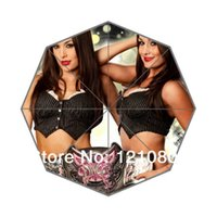 bella umbrella - Hot Sale Custom Design The Bella Twins Background Auto Foldable Umbrella Great Gift Idea