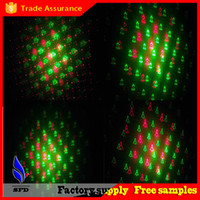 Wholesale HOT LED Stage Light XL080 Laser Star Stage DJ Lighting Christmas pattern Stage Light