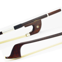 Wholesale A Professional Snakewood German BASS BOW Warm Tone Fast Response