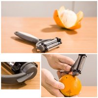 Wholesale Multifunctional Degree Rotary Potato Peeler Vegetable Cutter Fruit Melon Planer Grater Kitchen Gadgets with Blades