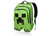 school bags - minecraft backpacks school bags minecraft backpack minecraft bag minecraft creeper creeper minecraft backpack kids green backpack in stock