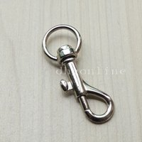 Wholesale Hardware Hooks SWIVEL CLIP SNAP Hook TRIGGER for Webbing bag lanyard purse mm SC11A Color Choice