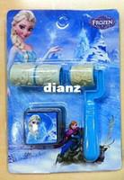 Wholesale 7 Styles Frozen Little hand roller seal Cartoon Princess Anna Elsa Olaf Seal stamp Children gift kids Toys