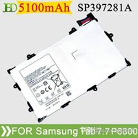 Wholesale Cheap Original Tab P6800 Battery mAh For Samsung Galaxy Tab P6800 P6810 SCH I815 SP397281A S2P