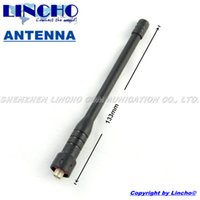 Wholesale connector jst rubber telescopic uhf MHz walkie talkie antenna universal radio antenna sma female connector