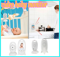 Wholesale CCTV wireless Video Baby Monitor Camera quot LCD GHz Two Way Talk Back Lullabies Night Vision Temperature Monitoring VB601