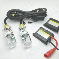 Wholesale Super brightness and high quality H4 Hi low beam kit xenon kit bi xenon kit lamps h4 with Projector lens