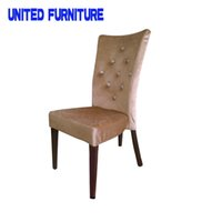Wholesale fabric dining chair french dining chair upholstered dining room chair Modern and French Style Fabric Covered Dining Chair for Restaurant