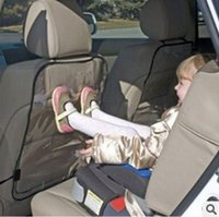 babies backrests - Car seat backrest cover child protection car cover baby kicking preventing pad anti on dirty mat car accessories ry210
