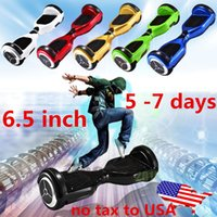 Wholesale US Stock Hoverboard inch balance Smart hoverboard Wheels hoverboard Electric Scooters Unicycle HoverBoard Smart Balance Wheel