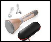 best wireless microphone for karaoke - New products for bluetooth microphone with bluetooth speaker dhl portable karaoke practice best gift for GF