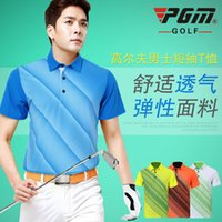 Wholesale Presale PGM genuine golf clothing men s short sleeved T shirt Golf days after the spring and summer uniforms Xihansugan Yushoukuan photogr