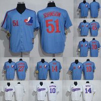 Wholesale Montreal Expos Throwback Jersey Andre Dawson Pete Rose Vladimir Guerrero Tim Raines Pedro Martinez Baseball Jerseys