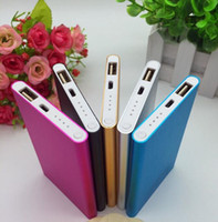 Wholesale High Quality Ultra thin slim powerbank mah xiaomi power bank for mobile phone Tablet PC External battery GIFT