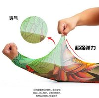 Wholesale New Fashion Unisex UV Protection Tattoo Sleeve Body Art Fake Temporary Tattoo Arm Warmers Driving Cycing Protection D Printed R82