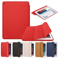 air pouches - ipad case iPad Mini Air Slim Magnetic Leather Smart iPad Cases Cover Wake Protector