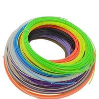 Wholesale 20 Color D ABS Filament mm Sample for D Printer D Printing Pen MakerBot RepRap UP Mendel