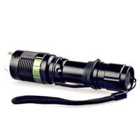 Wholesale Outdoor travel essential white light LED flashlight high quality UCL lens with lead alloy maximum illumination range is M M