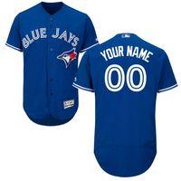 Wholesale Baseball Jerseys Men s Toronto Blue Jays Majestic Blue White Red Grey Flexbase Authentic Collection Custom Jersey Size S XL