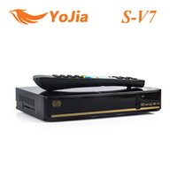 venda por atacado digital receiver-V7 Original Receptor de Satélite Digital S V7 S-V7 com suporte de saída AV VFD tela 2xUSB Wifi WEB TV USB Youporn CCCAMD NEWCAMD