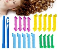 velcro - 2016 Convenient DIY MAGIC LEVERAG Magic Hair Curler Roller Magic Circle Hair Styling Rollers Curlers Leverag perm set