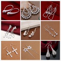 Cheap Dangle & Chandelier Women Earrings Best Silver African Hanging Earrings