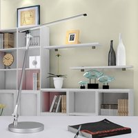 Wholesale Table Lamp light Led With black white color LED Clip Light Table Lamp Reading Light Orchestra Arm Flexible Adapter Book Reading Lamp Book