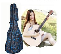 Wholesale Genuine folk guitar backpack wooden guitar backpack classic guitar Backpack