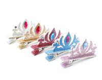 apparel tiaras - Baby Girl Barrettes Grown Hair Clip Hairpin Cute Headwear Apparel Hria Accessories
