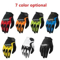 Wholesale Top quality Full Finger Motorcycle Bicycle Gloves Motocross colors size M XL Moto Protective Gears Glove For Men