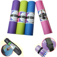 Wholesale 68 quot x24 quot x0 quot mm Thick Yoga Mat Non Slip Lose Weight Exercise Fitness Indoor Multicolor NEW mat yoga