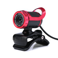 Wholesale USB Webcam Clip on Webcam Web Camera HD Megapixels PC Camera with Built in Microphone for Computer Laptop