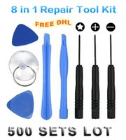 Wholesale 500 set in Repair Pry Tool Kit Opening Ferramentas Tools Pentalobe Star Screwdriver For iPhone S S C S CellPhone
