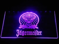 Wholesale a231 Jagermeister LED Neon Sign Bar Beer Decor Dropshipping colors to choose