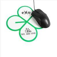 Wholesale 10pcs group for bts bigbang exo cartoon pvc mousepad