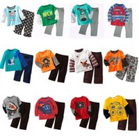 baby rock tees - Rock Boys Clothes Sets Cotton Children Clothing Suit Kid Tee Shirts Baby Boy Pajamas Set Toddler Sport Suits T Shirt Pant