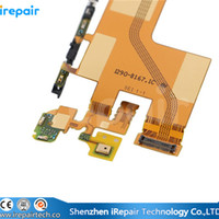 Cheap iRepair For Sony Xperia Z4 Original LCD screen Connector to Main Board Flex Cable with Microphone Repair Parts