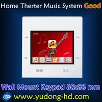 background music system - Family Background Music Multiroom Audio System Room Controller And Amplifier Keypad for Multiroom Audio
