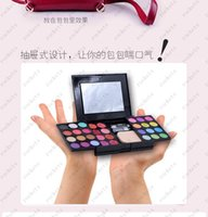 Wholesale Eddy silk cosmetics box make up cartridges box color eye shadow color lip gloss color blush piece of cake DHL