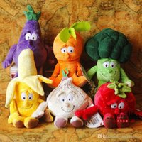 Wholesale 2016 New Arriving Vegetable Fruit Image Plush Toys Creative Design Ccm Height