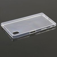 abs plastic bumper - TPU Thin Clear Gel Case For Sony Z5 TPU Silicone Gel Soft Bumper Clear Case Cover