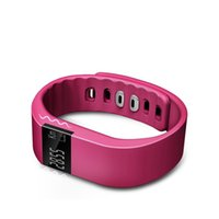band monitors - TW64 smart bracelet intelligent band with pedometer calorie sleep monitor call reminder sedentary waterproof support Android and iOS
