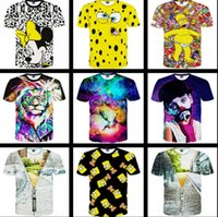 amazon men shirts - mix color amazon supply of goods sell like hot cakes The lion d star couple short sleeve T shirt men and women