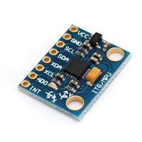 accelerometer analog - Circuit Board DOF MPU6050 Module Gyroscope And for Axis Accelerometer Sensor Module For Arduino V bits Analog