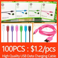ac packages - For Date Sync Cable USB M FT charger Cable For Samsung S4 S5 supports with Retail Package High Qualtiy