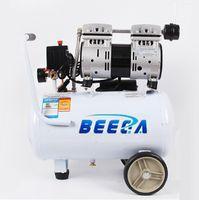580W silenciosa pistão portátil compressor de ar sem óleo, tanque de 24Ltr, a pressão de 7 bar, 62dB com certificação CE