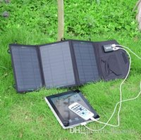 Wholesale 19 W solar mobile charger solar panel charger solar battery charger for power bank phone outdoor use