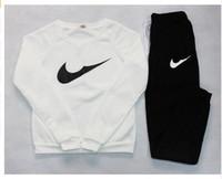Wholesale 2016 Brand Tracksuit Women Sport Suit Hoodie Sweatshirt Pant Jogging Femme Marque Survetement Sportswear pc Set Color S XL