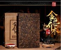benefit of tea - China s new benefits of gold trees kilograms of large tiles Pu er tea cooked tea brick tea Pu er tea brick