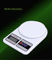 Wholesale Electronic Digital Scale kitchen Backlight LCD food weighing KG G Weight Balance Household Scales g oz